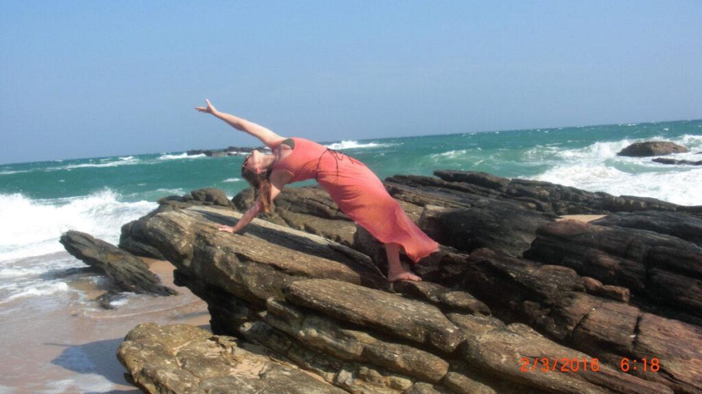 Yoga und Urlaub